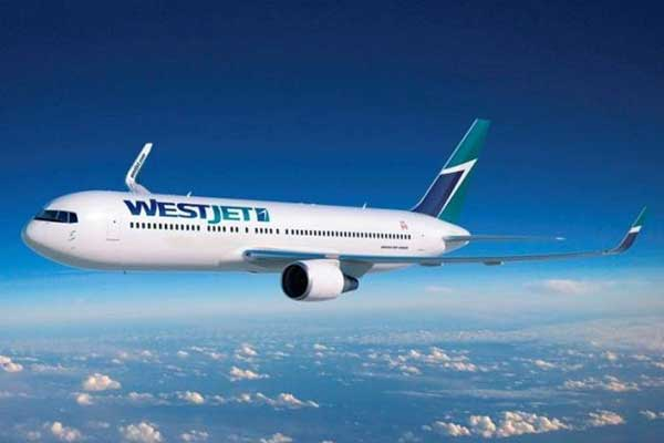 Westjet Airlines Aircraft