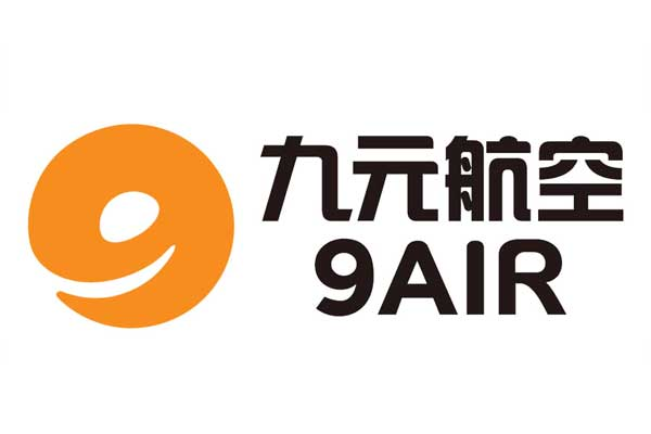 9air Airlines Logo