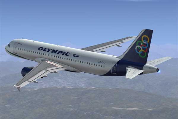 Olympic Air Aircraft