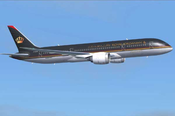 Royal Jordanian Airlines Aircraft