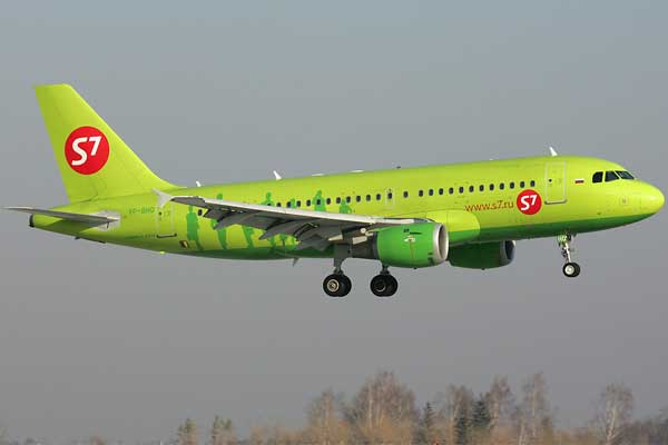S7 Airlines Aircraft