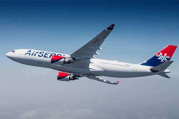 Air Serbia Aircraft
