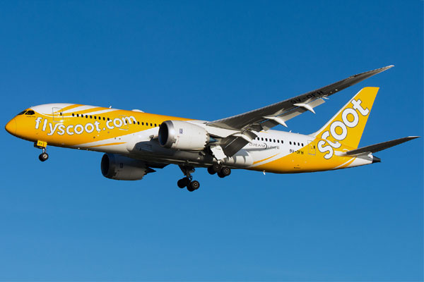 Scoot Aircraft