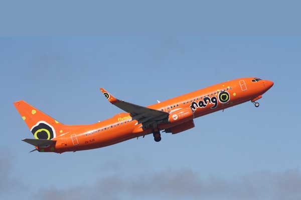Mango Airlines Aircraft