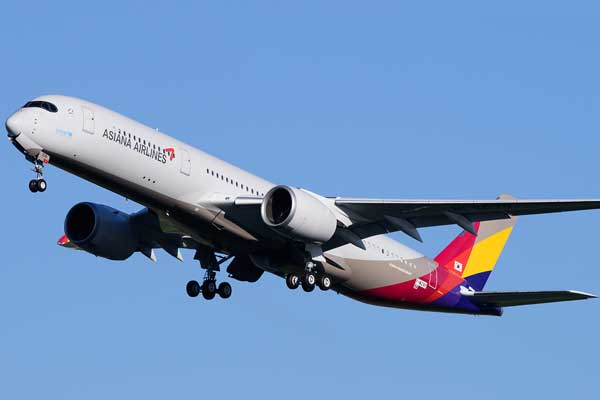 Asiana Airlines Aircraft