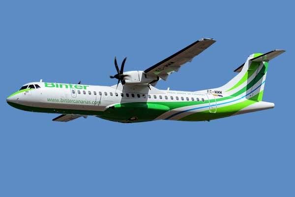 Binter Canarias Aircraft
