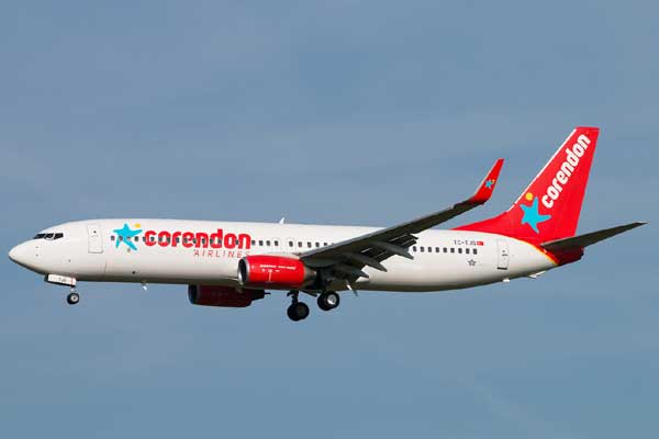 Corendon Airlines Aircraft