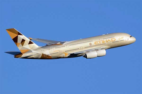 Etihad Airways Aircraft