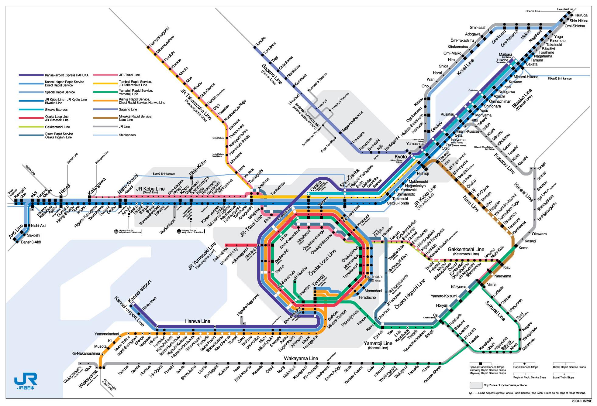 Osaka Travel Guide - Japan map travel guide