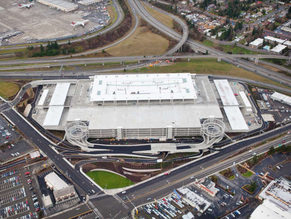 Seattle Tacoma Airport Car Rental Facility Image